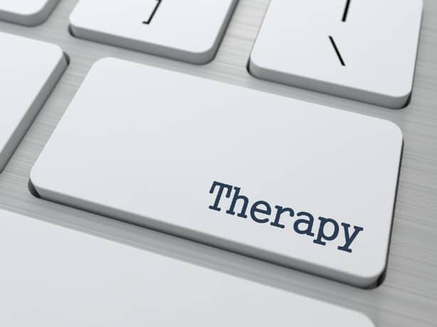 Online therapy for help with mental health
